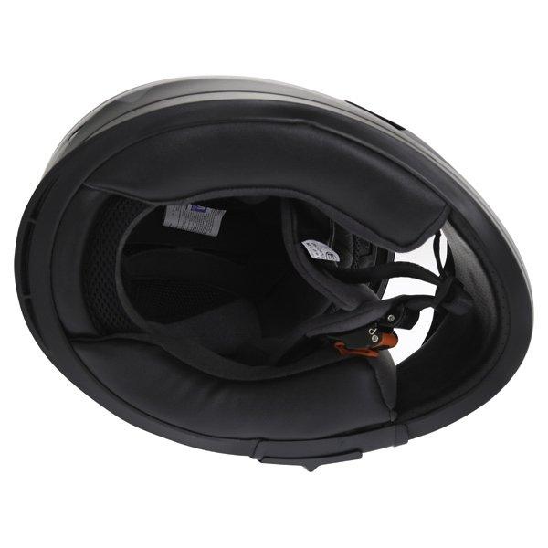 Frank Thomas FT36SV Modena Matt Black Grey Full Face Motorcycle Helmet Inside