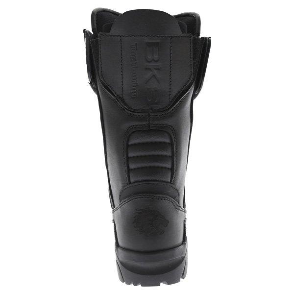 BKS Storm Black Waterproof Motorcycle Boots Heel