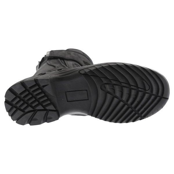BKS Storm Black Waterproof Motorcycle Boots Sole