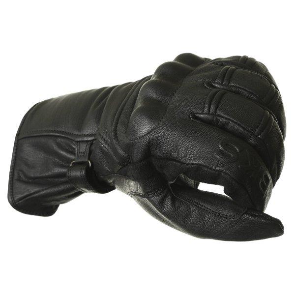 BKS Cruiser Knuckle Black Waterproof Motorcycle Gloves Knuckle
