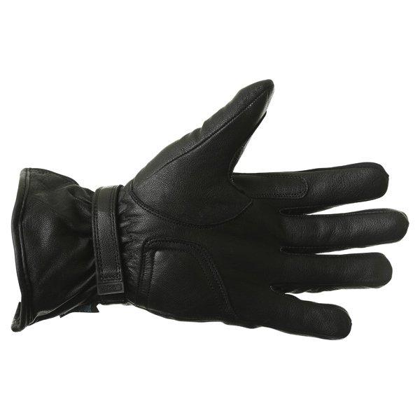 BKS Cruiser Black Waterproof Motorcycle Gloves Palm