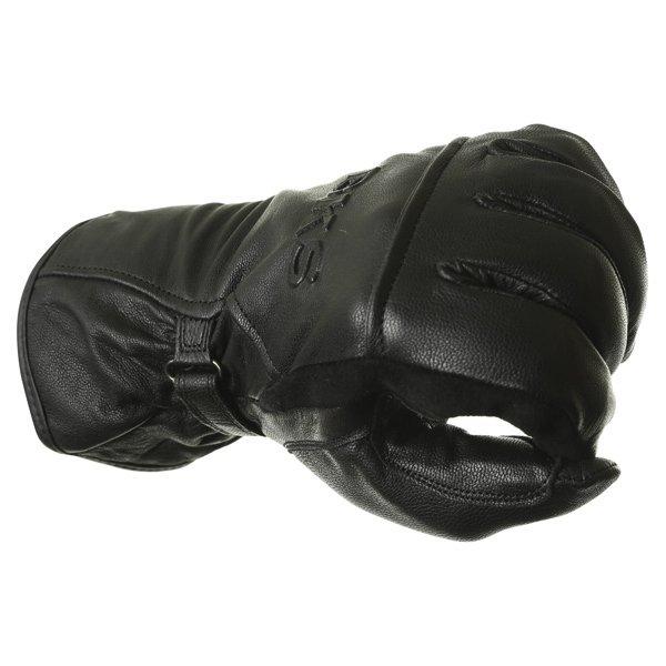 BKS Cruiser Black Waterproof Motorcycle Gloves Knuckle