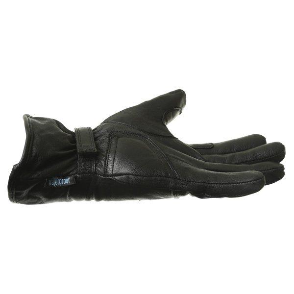 BKS Cruiser Black Waterproof Motorcycle Gloves Little finger side