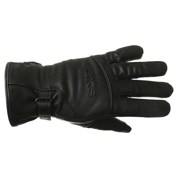 BKS Cruiser Ladies Waterproof Black Motorcycle Gloves Back