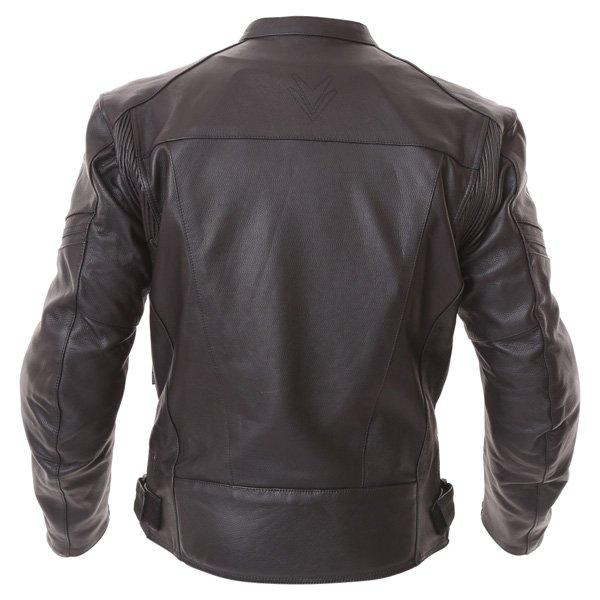 Frank Thomas FTL500 Fusion Sports Black Leather Motorcycle Jacket Back