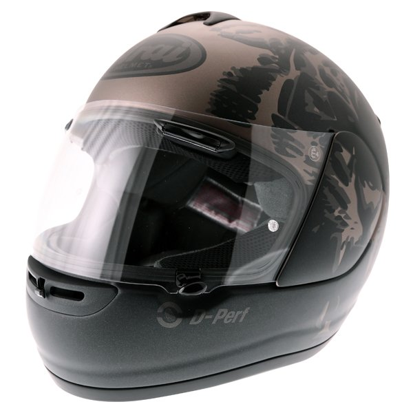 Arai Axces II Roar Sand Full Face Motorcycle Helmet Front Left