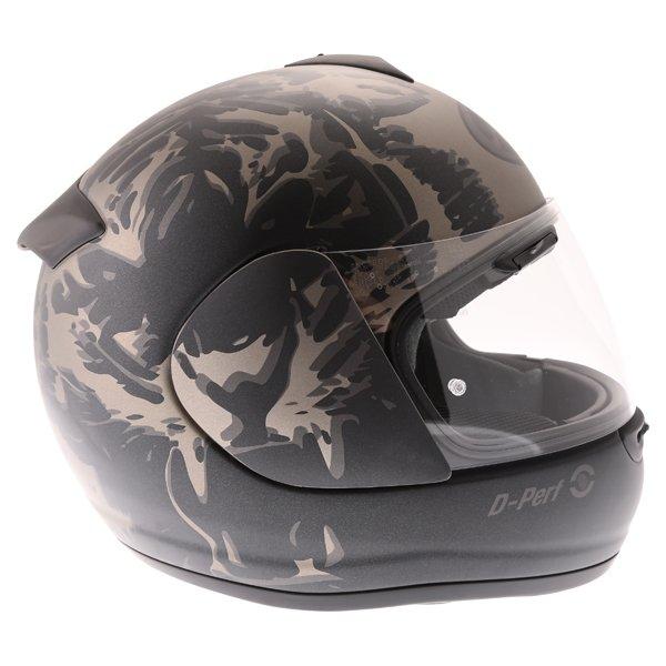 Arai Axces II Roar Sand Full Face Motorcycle Helmet Right Side
