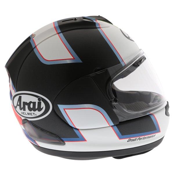 Arai RX-7V Haslam Black Full Face Motorcycle Helmet Front