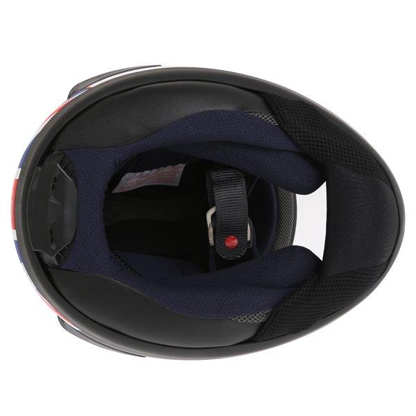 Arai RX-7V Haslam Black Full Face Motorcycle Helmet Inside