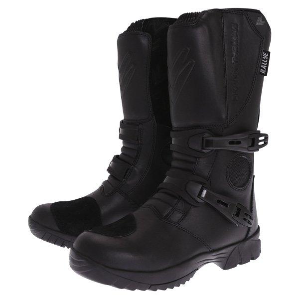 Rallye Boots Black Motorcycle Boots