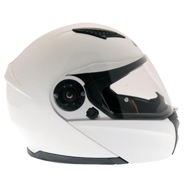 Givi X16 Modular White Flip Front Motorcycle Helmet Right Side