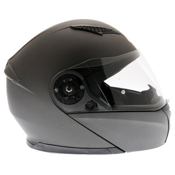 Givi X16 Modular Titanium Flip Front Motorcycle Helmet Right Side