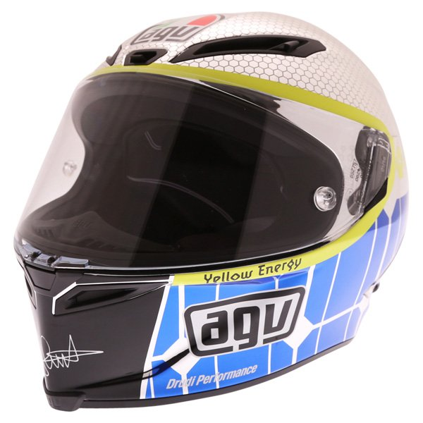 AGV Corsa Valentino Rossi Mugello 2015 Limited Edition Full Face Motorcycle Helmet Front Left