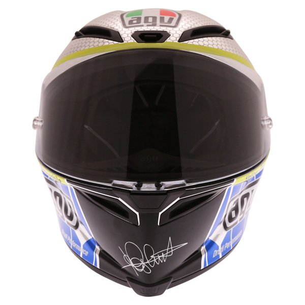 AGV Corsa Valentino Rossi Mugello 2015 Limited Edition Full Face Motorcycle Helmet Front