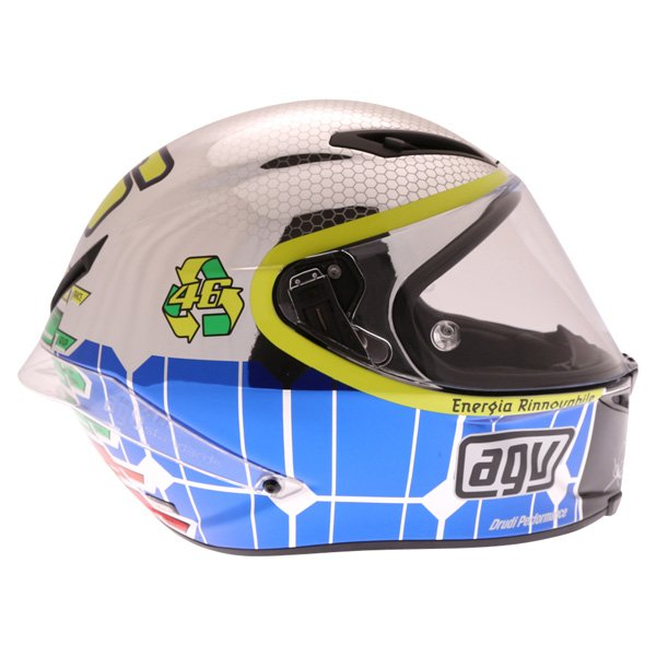 AGV Corsa Valentino Rossi Mugello 2015 Limited Edition Full Face Motorcycle Helmet Right Side