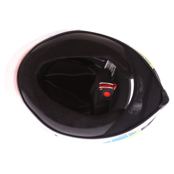 AGV Corsa Valentino Rossi Mugello 2015 Limited Edition Full Face Motorcycle Helmet Inside