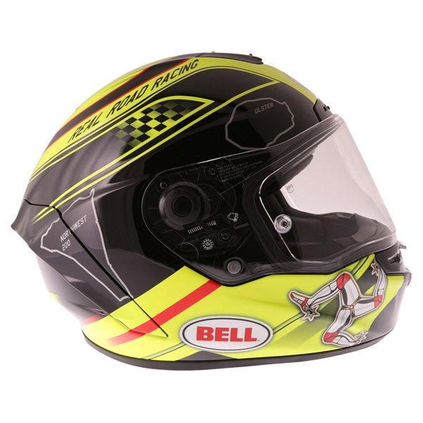Bell Star IOM Full Face Motorcycle Helmet Right Side