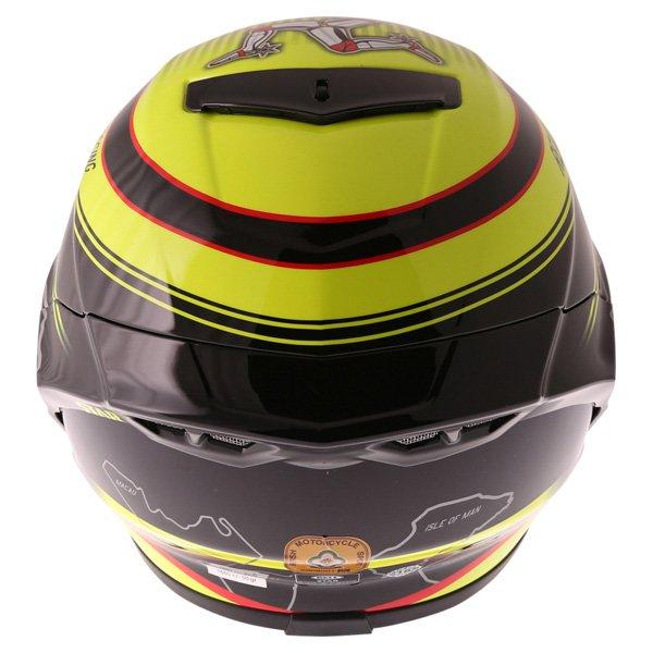 Bell Star IOM Full Face Motorcycle Helmet Back