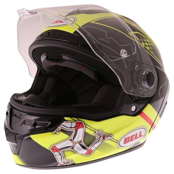 Bell Star IOM Full Face Motorcycle Helmet Open