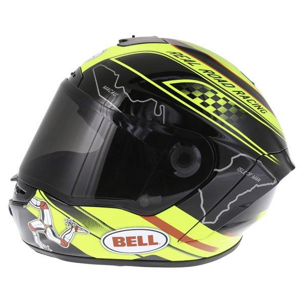 Bell Star IOM Full Face Motorcycle Helmet Left Side