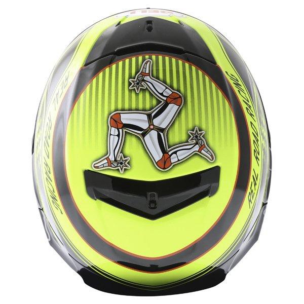 Bell Star IOM Full Face Motorcycle Helmet Top