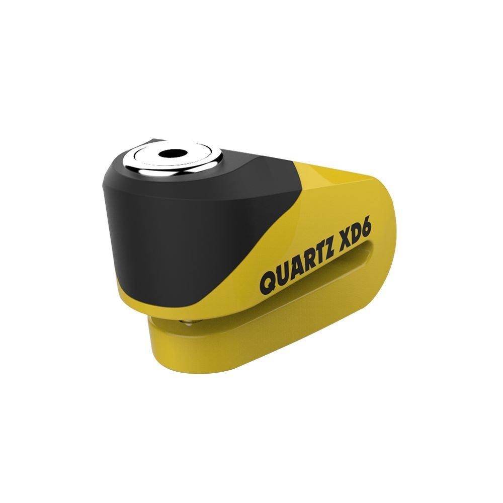 XD6 Disc Lock 6mm Yellow Black Disc Locks