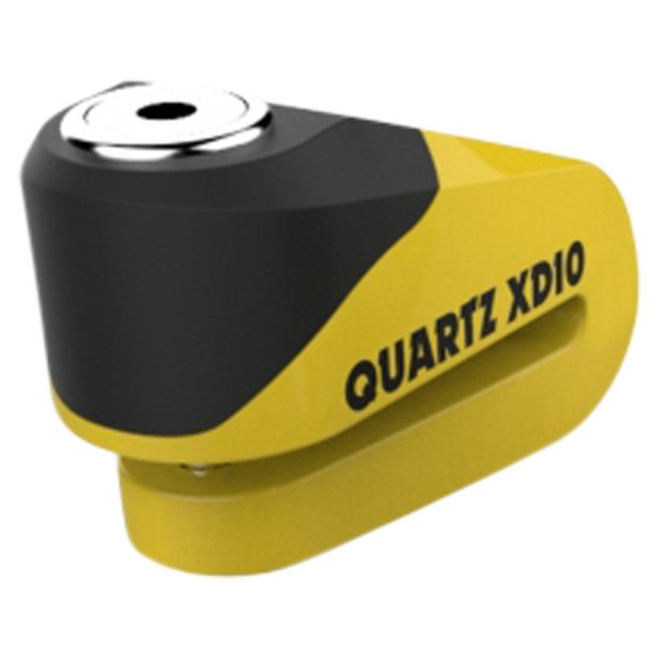 Oxford Products XD10 10mm Yellow Black Disc Lock