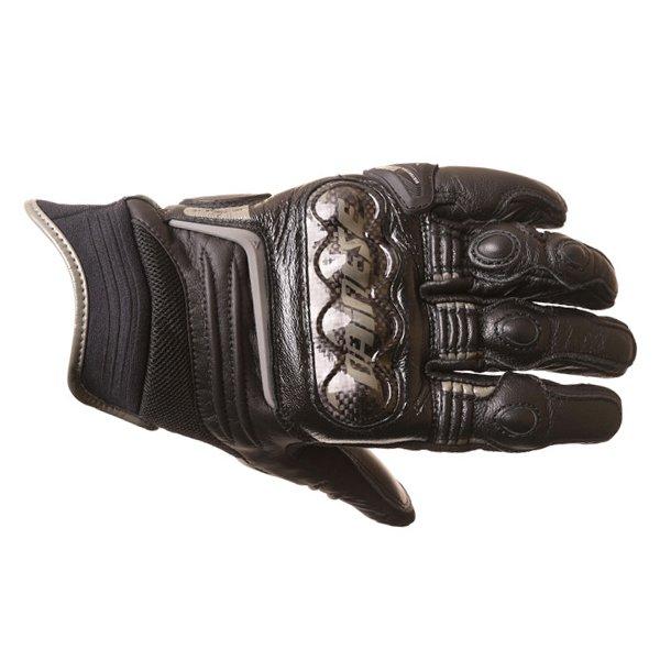 Dainese Carbon D1 Short Black Motorcycle Gloves Back