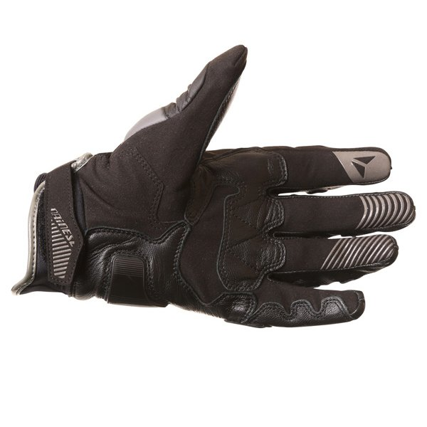 Dainese Carbon D1 Short Black Motorcycle Gloves Palm