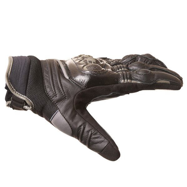 Dainese Carbon D1 Short Black Motorcycle Gloves Thumb side
