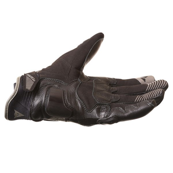 Dainese Carbon D1 Short Black Motorcycle Gloves Little finger side