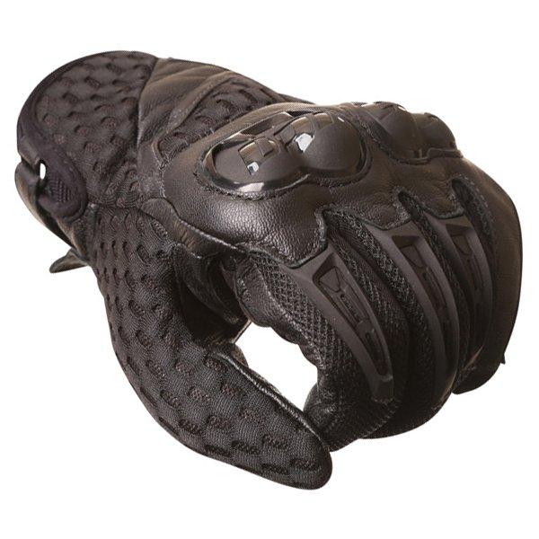 Dainese Air Hero Black Motorcycle Gloves Knuckle