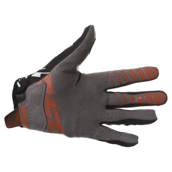 Alpinestars Racer Braap Black White Motocross Gloves Palm