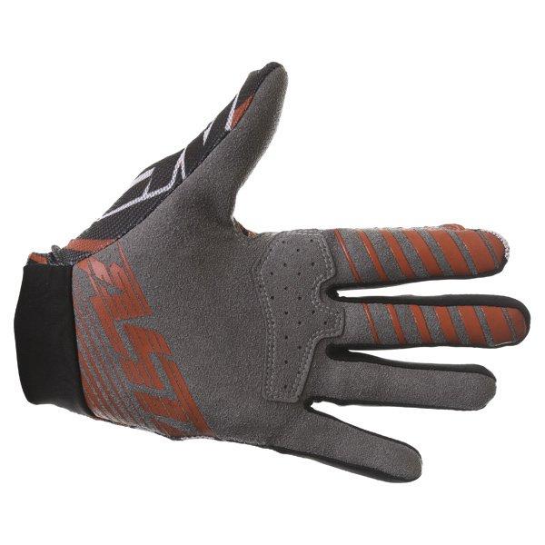 Alpinestars Dune Black White Red Motocross Gloves Palm