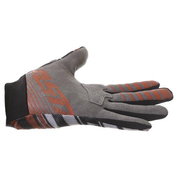 Alpinestars Dune Black White Red Motocross Gloves Little finger side