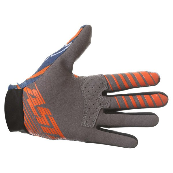 Alpinestars Dune Navy White Orange Motocross Gloves Palm