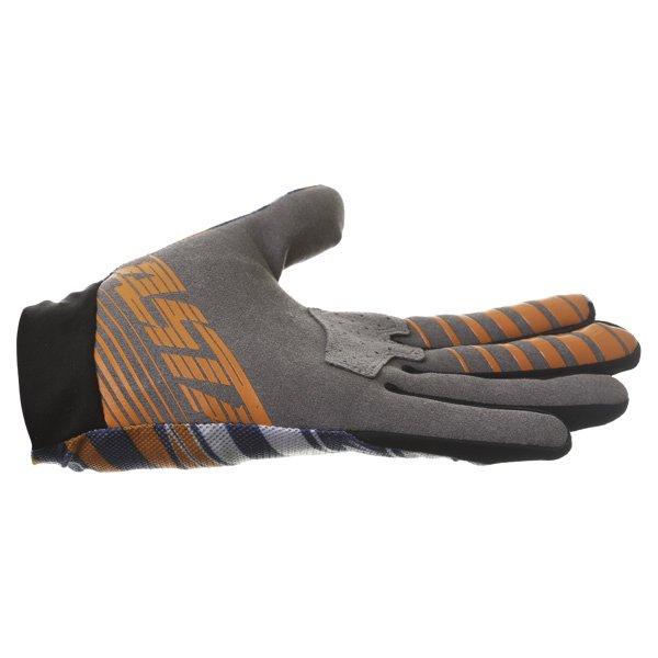 Alpinestars Dune Navy White Orange Motocross Gloves Little finger side