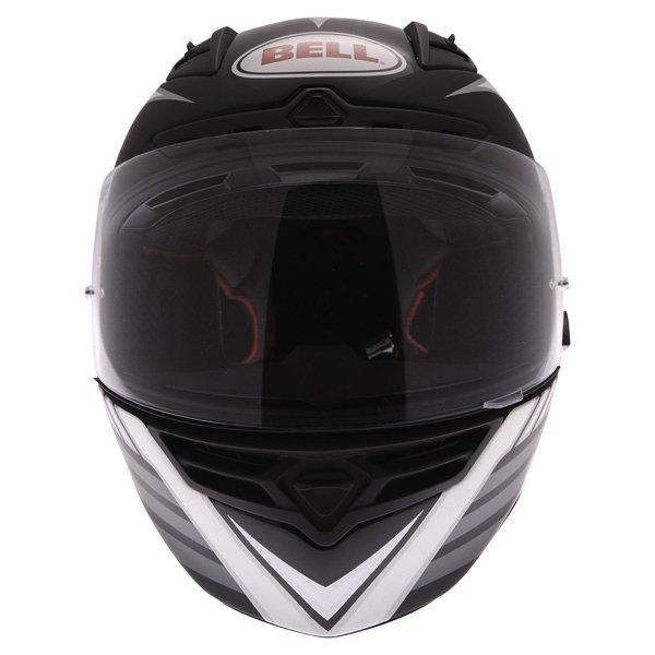 Bell Star Carbon Pinned Black Full Face Motorcycle Helmet Front