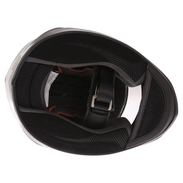 Bell Star Carbon Pinned Black Full Face Motorcycle Helmet Inside