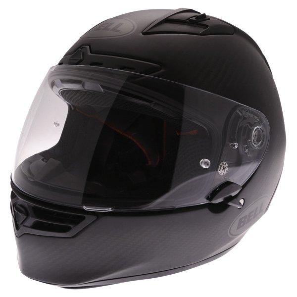 Bell Star Carbon Matt Carbon Full Face Motorcycle Helmet Front Left