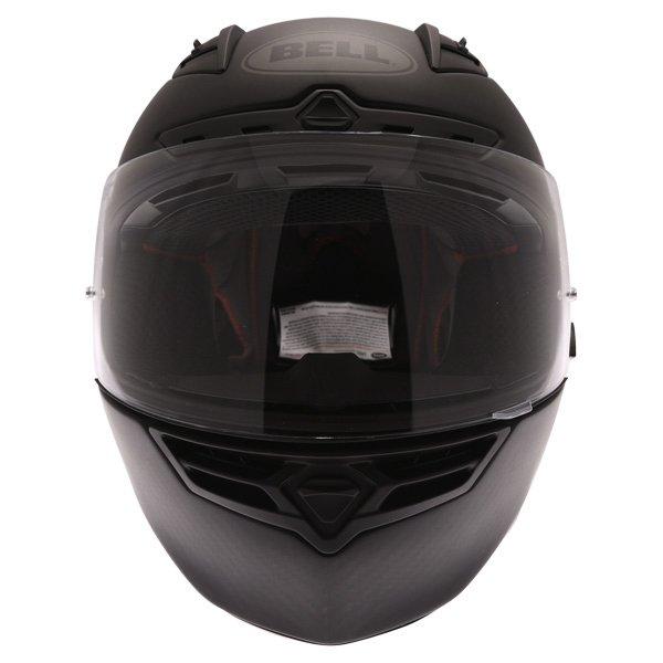 Bell Star Carbon Matt Carbon Full Face Motorcycle Helmet Front