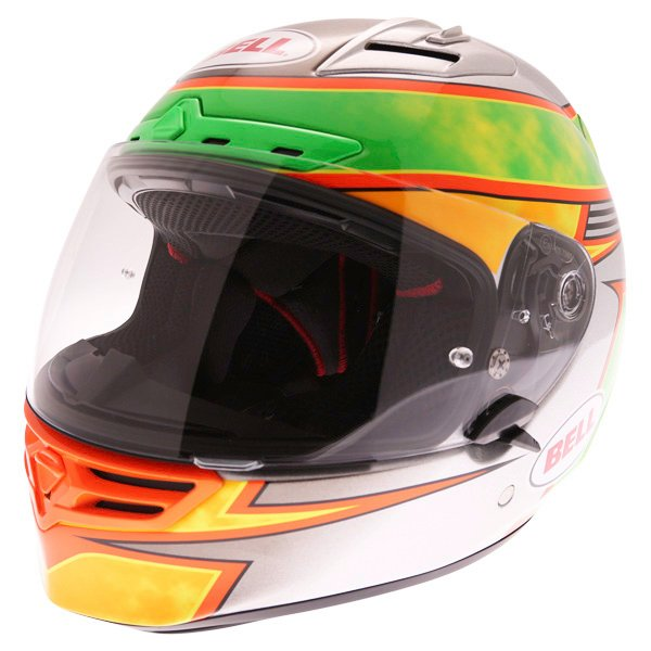 Bell Star Carbon SE Fillmore Full Face Motorcycle Helmet Front Left