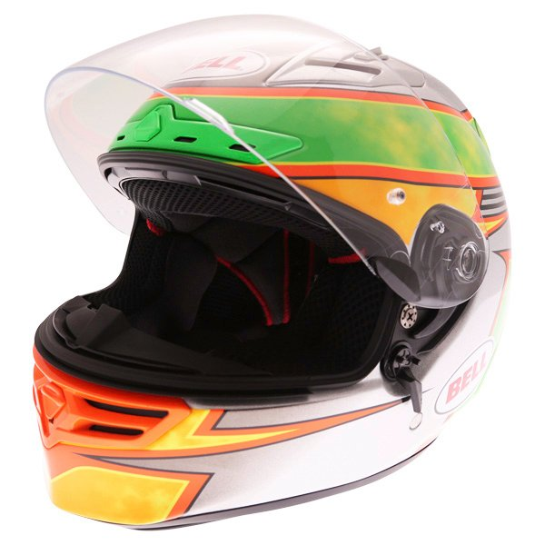 Bell Star Carbon SE Fillmore Full Face Motorcycle Helmet Open