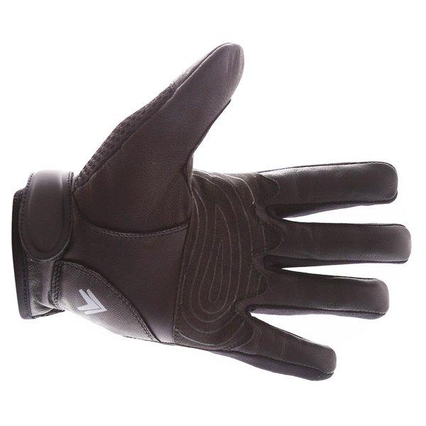 Frank Thomas Fresh Black Motorcycle Gloves Palm