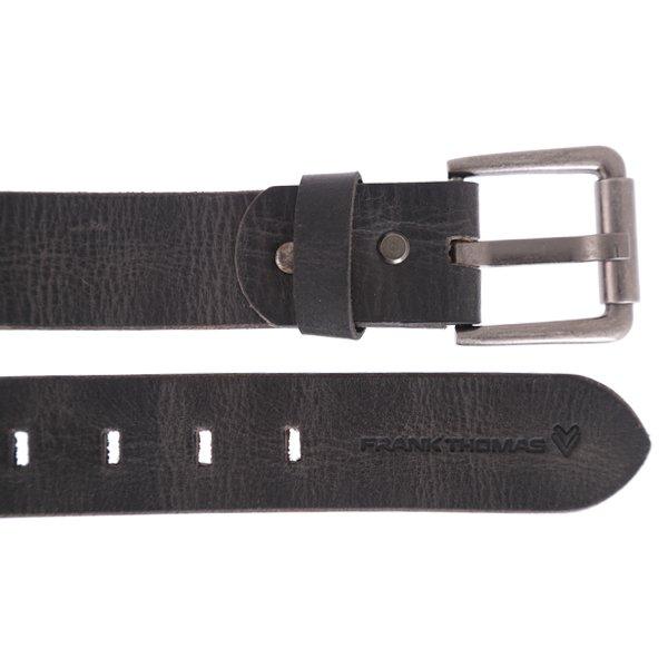 Frank Thomas Black Leather Belt