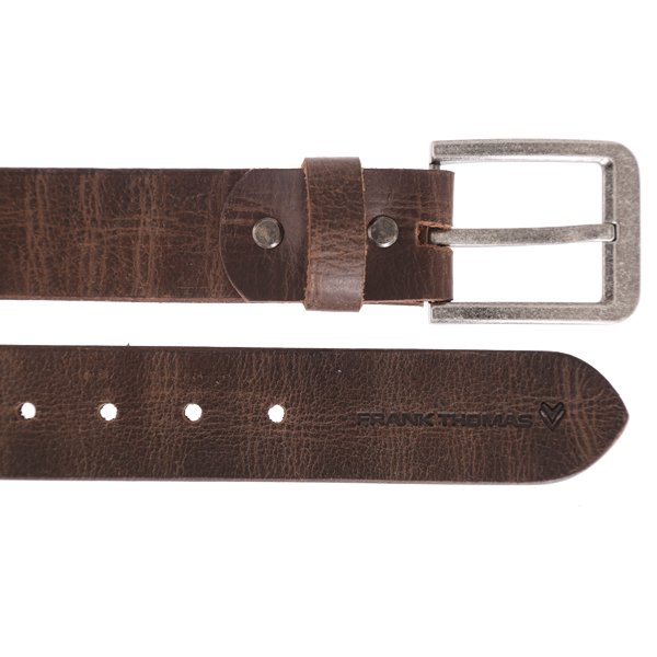 Leather Belt Brown Other