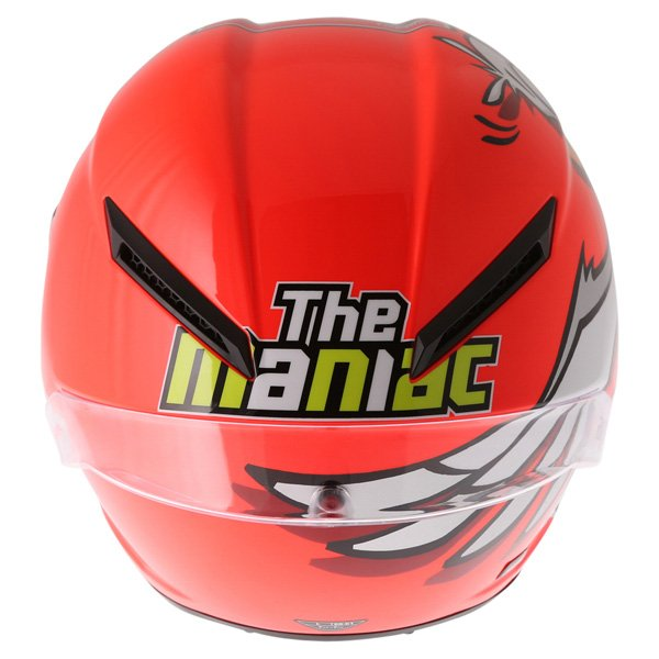 AGV Corsa Andrea Iannone 2016 Winter Test Limited Edition Full Face Motorcycle Helmet Back