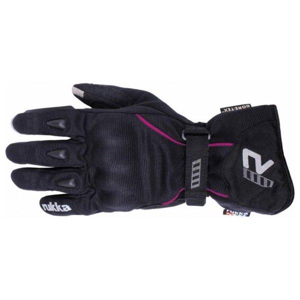 Suki Gloves Black Pink Rukka Ladies