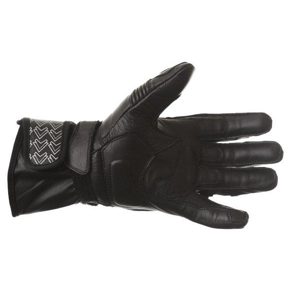Frank Thomas Sport Black Motorcycle Gloves Palm