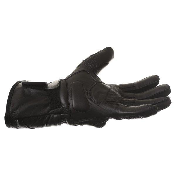 Frank Thomas Sport Black Motorcycle Gloves Little finger side